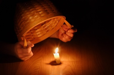 Shining Light (Biblical concept-Hiding your light under a bushel basket)