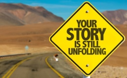 Your story sign compressed AdobeStock_107436455