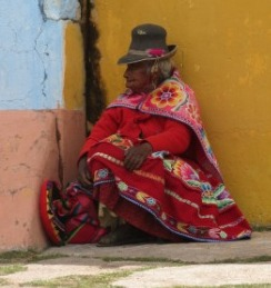 Andean old woman compressed and cropped indigenous-609479_1920