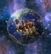Earth children together